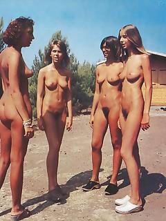 nackt teens vintage